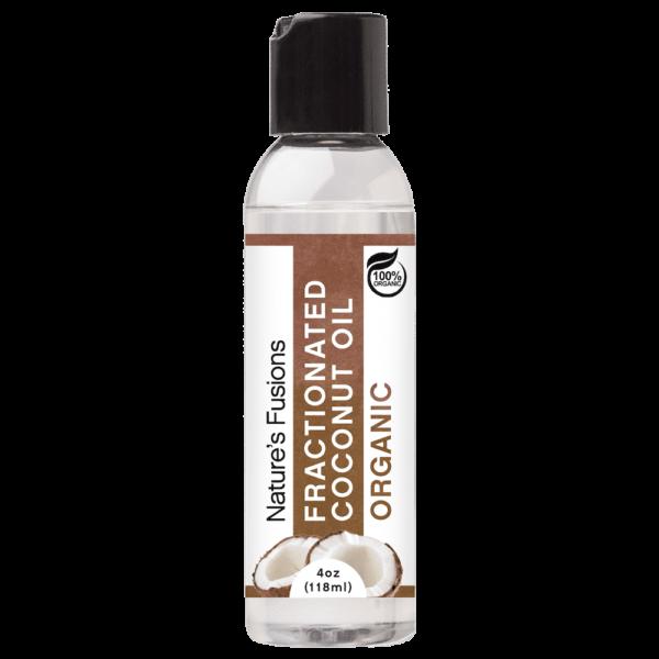 4 oz, 118 ml bottle fractionated coconut oil