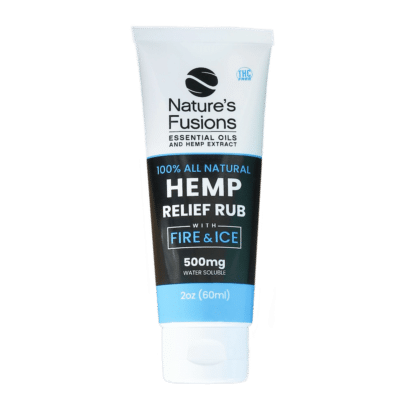 Hemp Relief Cream w/Menthol (NnT™) (2oz)