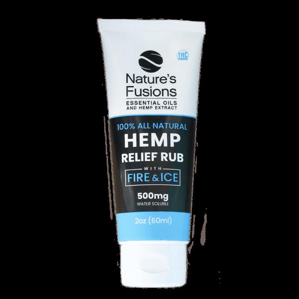 Hemp Relief Cream w/Menthol (NnT™) (2oz)