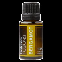 15 ml bottle of bergamot citrus essential oil