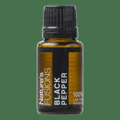 15 ml bottle of black pepper essential oil