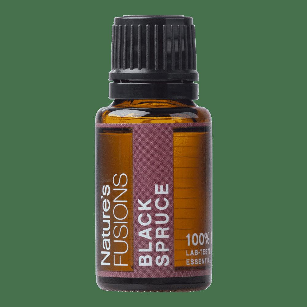 15 ml bottle of black spruce essential oil