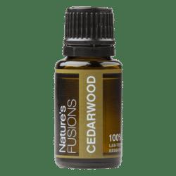 15 ml bottle of cedarwood essential oil