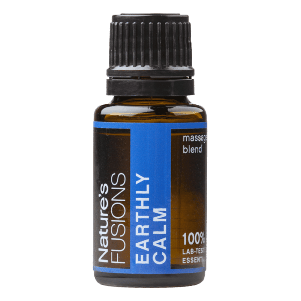 15 ml bottle of Earthly Calm essential oil