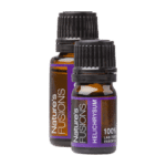 A 5 and 15 ml bottle of helichrysum essential oil