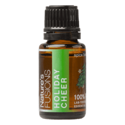 15 ml bottle of Holiday Cheer essential oil