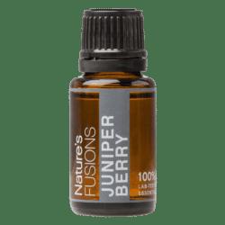 15 ml bottle of juniper berry essential oil