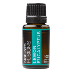 15 ml bottle of lemon eucalyptus essential oil