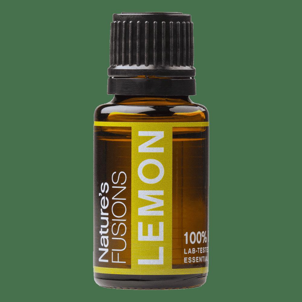15 ml bottle of lemon essential oil