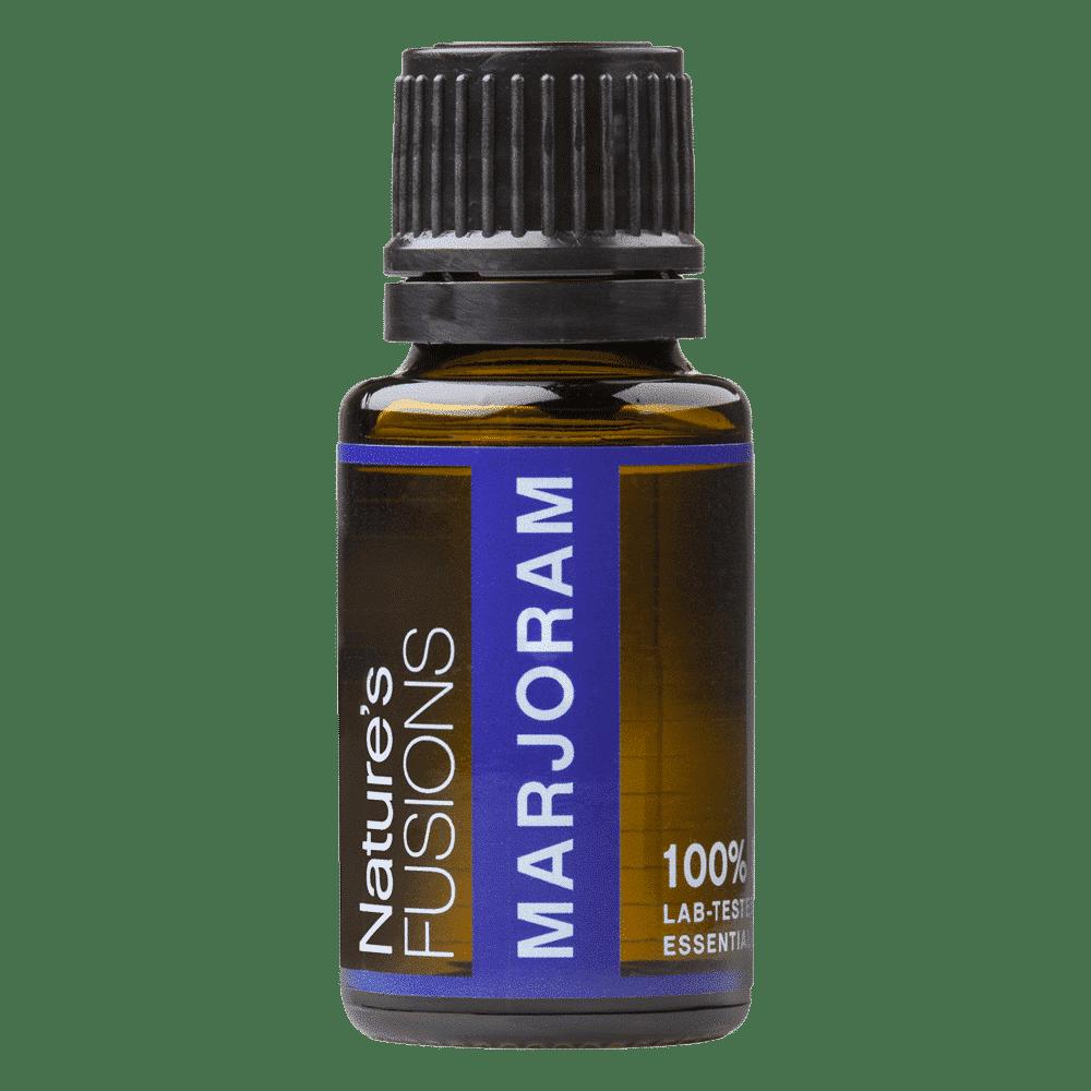 15 ml bottle of marjoram essential oil