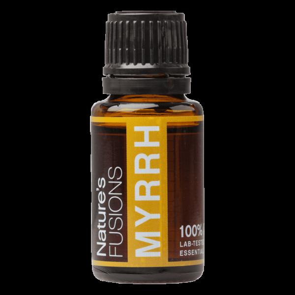 15 ml bottle of myrrh essential oil