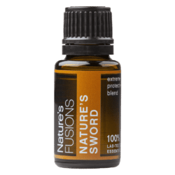 15 ml bottle of Nature's Sword essential oil