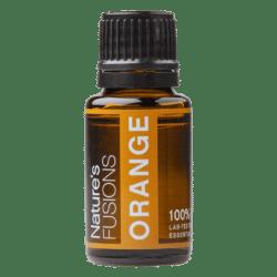 15 ml bottle of orange essential oil