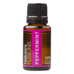 15 ml bottle of peppermint essential oil