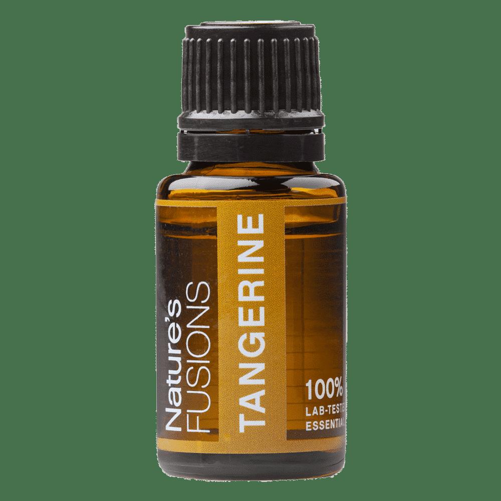 15 ml bottle of tangerine essential oil