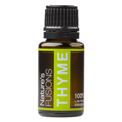 15 ml bottle of thyme essential oil