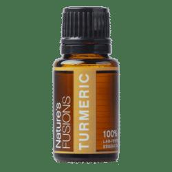 15 ml bottle of tumeric essential oil