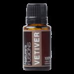 15 ml bottle of vetiver essential oil
