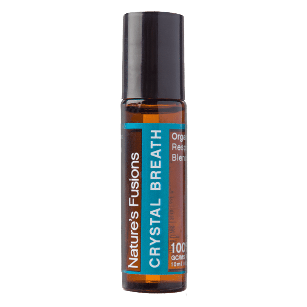 Crystal Breath Roll-On With Organic Coconut Oil