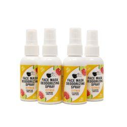 4-pack 2-oz Face Mask Deodorizing Spray – Citrus