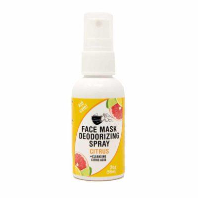 2 oz Face Mask Spray – Citrus, kid safe + cleansing citric acid