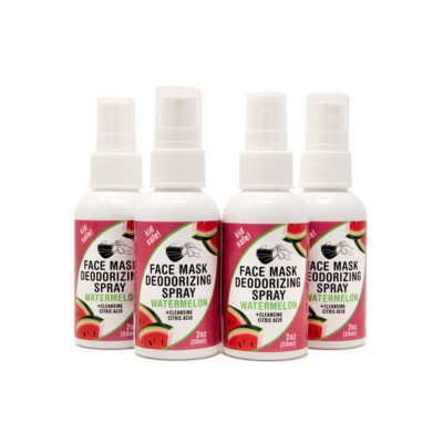 4-pack 2-oz Face Mask Deodorizing Spray – Watermelon