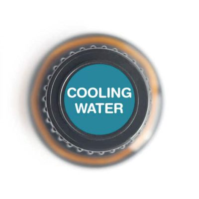 labeled top of Cooling Water bottle