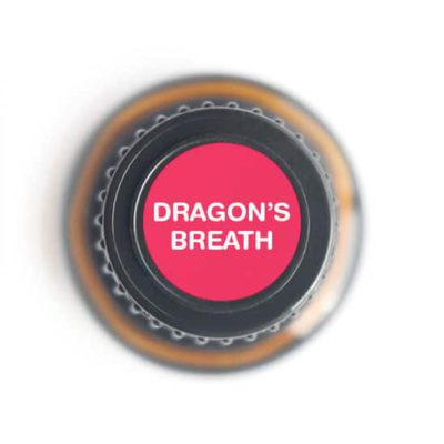 labeled top of Dragon's Breath bottle