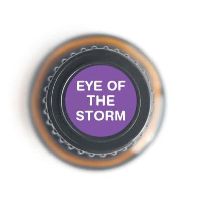 labeled top of Eye of the Storm bottle