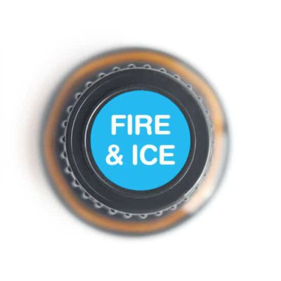 labeled top of Fire & Ice bottle