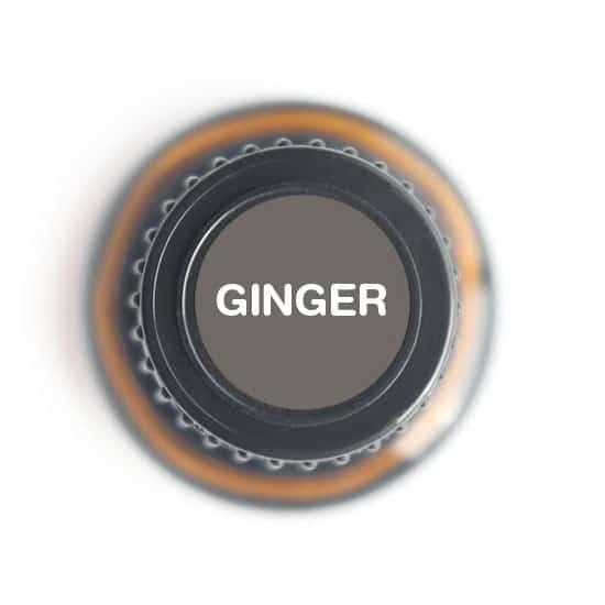 labeled top of ginger bottle