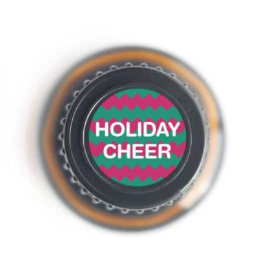 labeled top of Holiday Cheer bottle