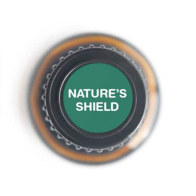 labeled top of Nature's Shield bottle