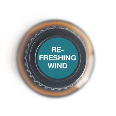 labeled top of Refreshing Wind bottle
