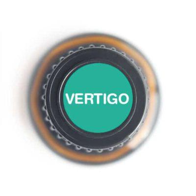 labeled top of Vertigo bottle