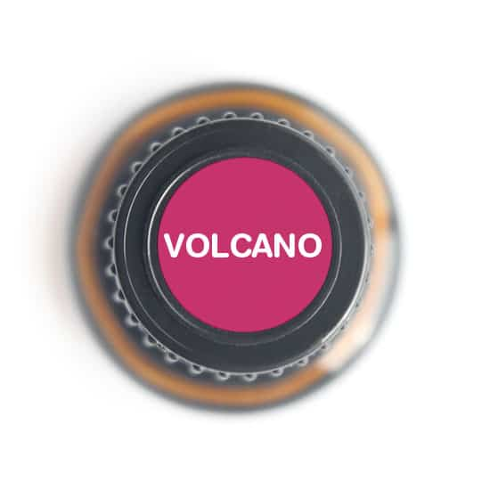 labeled top of Volcano bottle