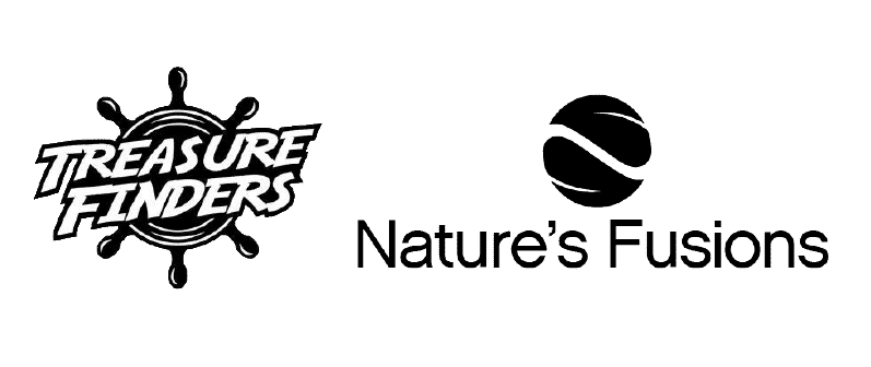 Nature's Fusions and Treasure Finders logos