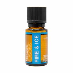 15 ml bottle of Fire & Ice blend with safety cap