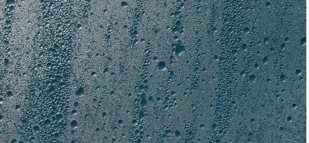 glass covered in water droplets texture