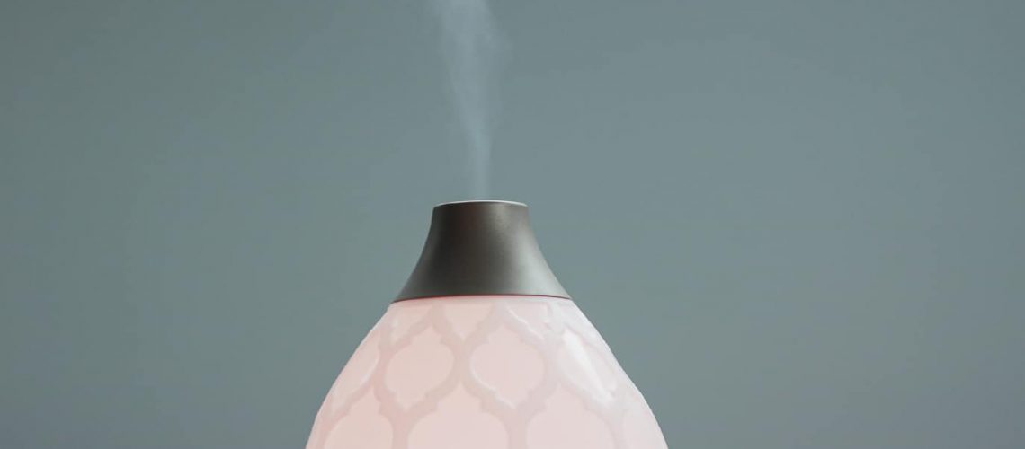 diffuser on plain background